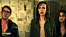 A still #3 from Extraterrestrial (2014) with Jesse Moss, Emily Perkins and Melanie Papalia