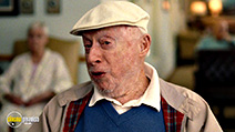A still #5 from Trainwreck with Norman Lloyd