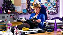 A still #3 from Nativity 3: Dude, Where's My Donkey?! (2014) with Celia Imrie