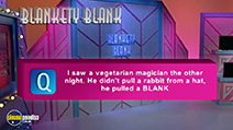 Still #7 from Blankety Blank Interactive Game