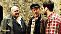 A still #7 from The Bad Education Movie (2015) with Iain Glen, Steve Speirs and Jack Whitehall