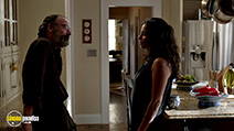 A still #53 from Homeland: Series 3 with Sarita Choudhury and Mandy Patinkin
