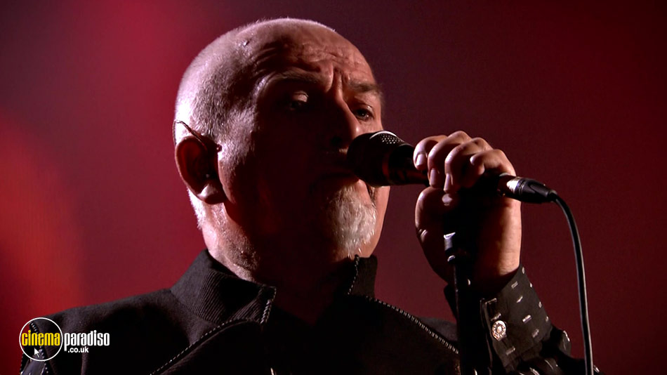 Peter Gabriel: New Blood: Live in London online DVD rental