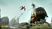 Still #4 from Robinson Crusoe