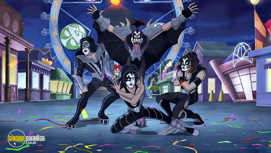 Scooby-Doo and Kiss: Rock 'N' Roll Mystery online DVD rental