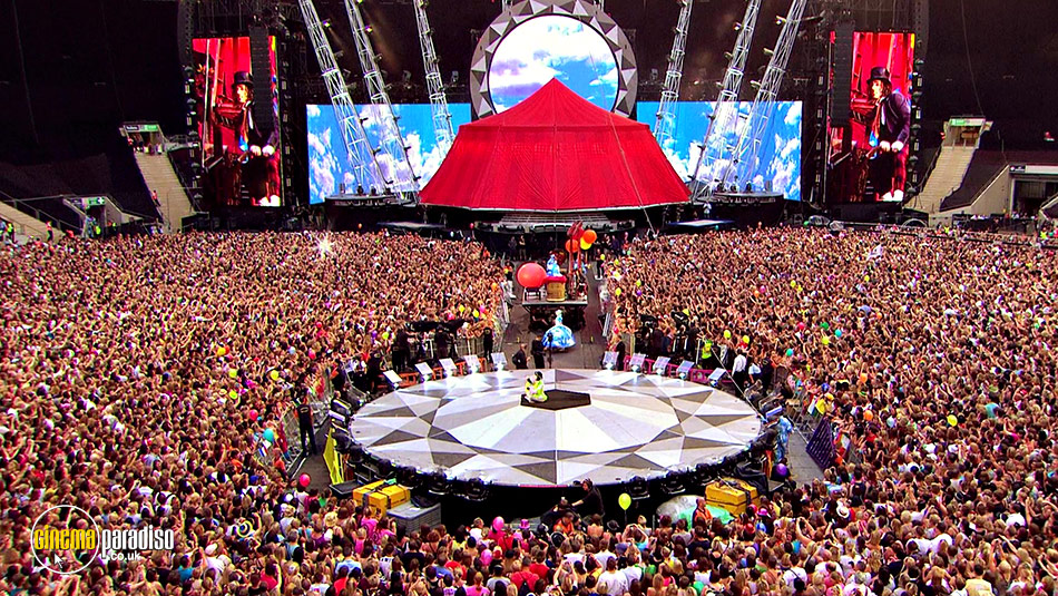 Take That: The Circus Live online DVD rental