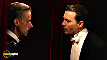 A still #52 from Finding Neverland with Mackenzie Crook and Johnny Depp