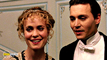 A still #48 from Finding Neverland with Radha Mitchell and Johnny Depp