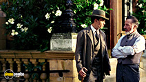 A still #44 from Finding Neverland with Dustin Hoffman and Johnny Depp