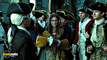 A still #61 from Pirates of the Caribbean 2: Dead Man's Chest with Keira Knightley and Orlando Bloom