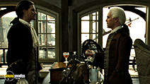 A still #65 from Pirates of the Caribbean 2: Dead Man's Chest with Tom Hollander and Orlando Bloom
