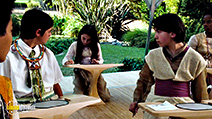 A still #3 from Serenity with Hunter Ansley Wryn and Logan O'Brien