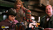 A still #55 from Harry Potter and the Chamber of Secrets with Mark Williams and Daniel Radcliffe