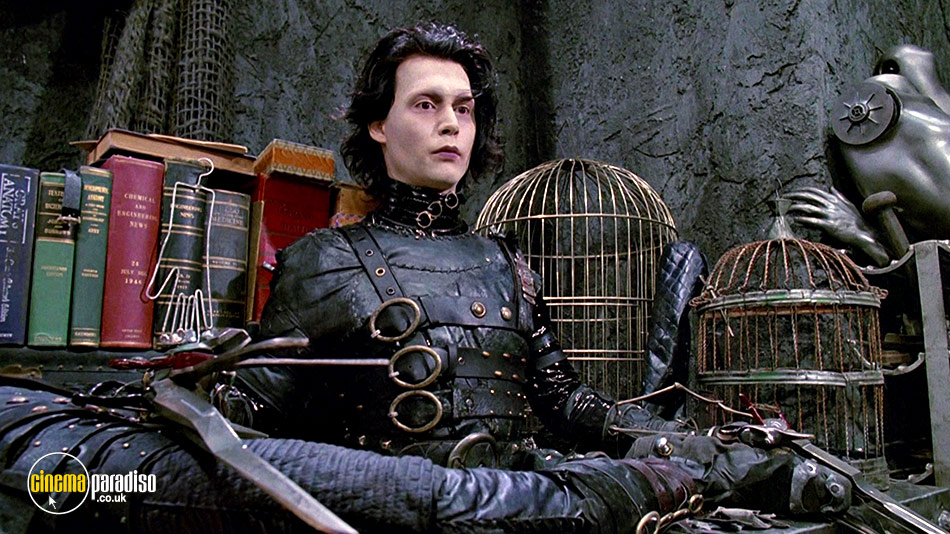 Still from Edward Scissorhands