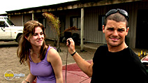 A still #5 from Wolf Creek (2005) with Kestie Morassi and Nathan Phillips