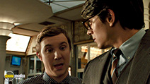 A still #9 from Superman Returns with Sam Huntington and Brandon Routh