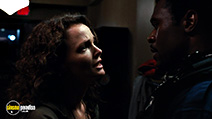 A still #2 from Saw 3 with Dina Meyer and Lyriq Bent