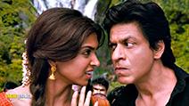 A still #5 from Chennai Express (2013) with Shah Rukh Khan and Deepika Padukone