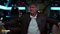 A still #7 from Star Wars: The Force Awakens with Harrison Ford