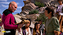 A still #39 from Star Trek: The Next Generation: The Best of Both Worlds with Patrick Stewart