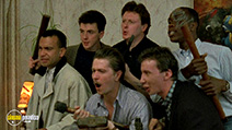 A still #6 from The Firm (1989) with Gary Oldman, Philip Davis, Andrew Wilde, Charles Lawson, William Vanderpuye and Jay Simpson