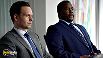 A still #9 from Suits: Series 5 (2015) with Wendell Pierce and Patrick J. Adams