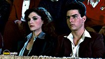 A still #2 from The Color of Money (1986) with Tom Cruise and Mary Elizabeth Mastrantonio