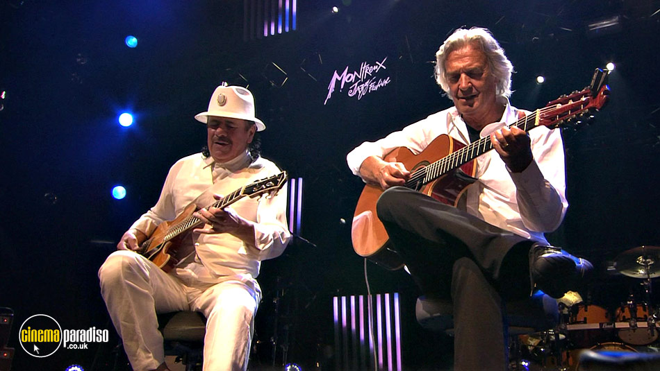 Santana and McLaughlin: Invitation to Illumination: Live at Montreux online DVD rental