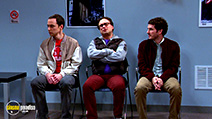A still #1 from The Big Bang Theory: Series 8 (2014) with Jim Parsons, Johnny Galecki and Tate Ellington