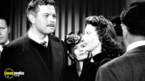 A still #9 from The Stranger (1946) with Orson Welles and Loretta Young