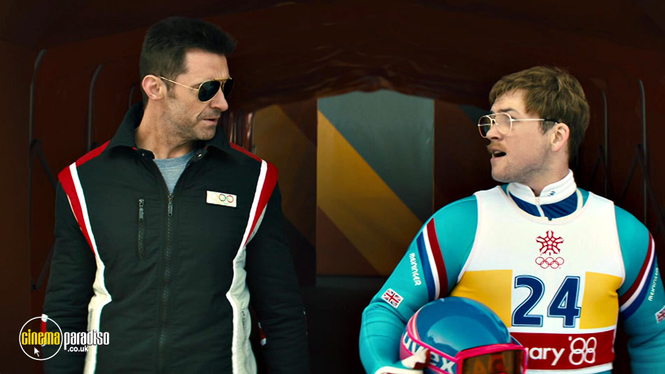Still from Eddie the Eagle