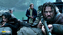 A still #2 from The Revenant (2015) with Leonardo DiCaprio, Domhnall Gleeson and Forrest Goodluck