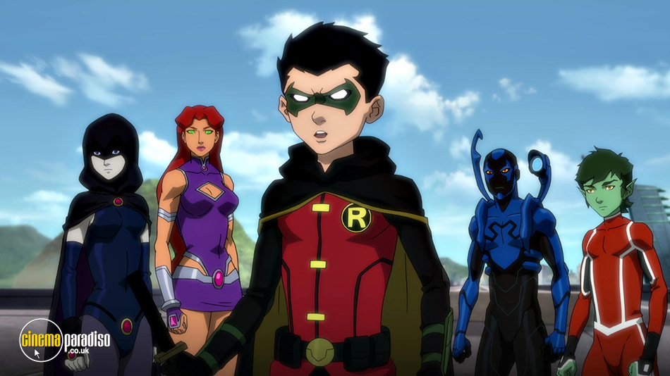 Justice League vs. Teen Titans online DVD rental