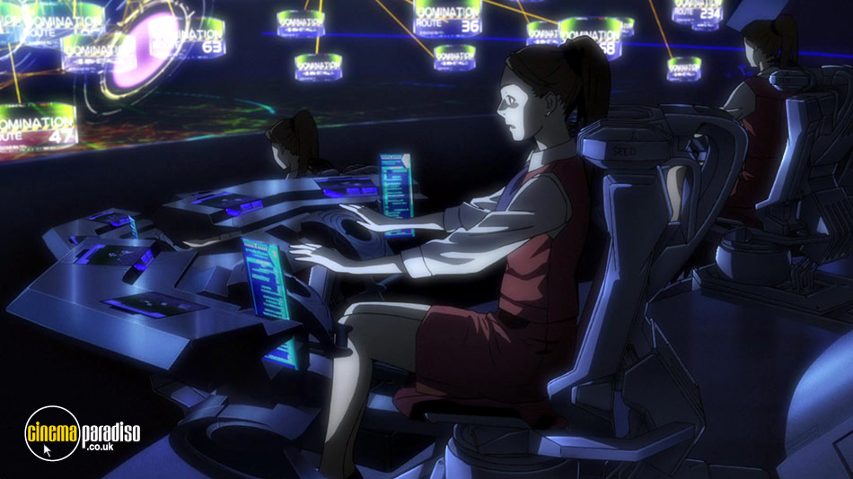 Ghost in the Shell Arise: Borders: Parts 3 and 4 online DVD rental