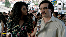 A still #9 from Narcos: Series 1 (2015) with Wagner Moura and Stephanie Sigman