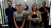 A still #4 from Arrow: Series 4 (2015) with David Ramsey, Katie Cassidy, Stephen Amell, Willa Holland and Emily Bett Rickards