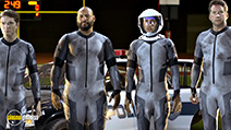 A still #4 from Lazer Team (2015) with Michael Jones, Colton Dunn, Burnie Burns and Gavin Free