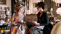 A still #2 from Love and Friendship (2016) with Kate Beckinsale and Emma Greenwell
