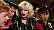 A still #9 from Sid and Nancy (1986) with Chloe Webb