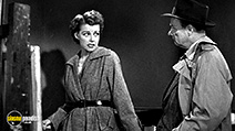 A still #6 from Woman on the Run (1950) with Robert Keith and Ann Sheridan