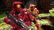 A still #8 from Red vs. Blue: Series 11 (2013)