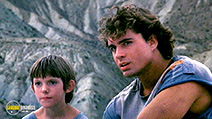 A still #5 from Solar Warriors (1986) with Jason Patric and Lukas Haas