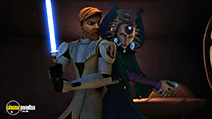 A still #10 from Star Wars: Clone Wars: Vol.2 (2004)