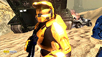 A still #10 from Red vs. Blue: Series 7 (2009)
