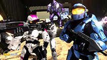 A still #9 from Red vs. Blue: Series 7 (2009)