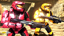 A still #7 from Red vs. Blue: Series 7 (2009)