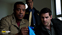 A still #4 from Grimm: Series 5 (2015) with Reggie Lee, Russell Hornsby and David Giuntoli