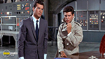 A still #3 from Dr. Goldfoot and the Bikini Machine (1965) with Frankie Avalon and Dwayne Hickman