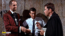 A still #1 from Dr. Goldfoot and the Bikini Machine (1965) with Vincent Price, Frankie Avalon and Dwayne Hickman