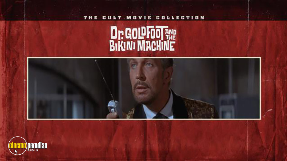 Dr. Goldfoot and the Bikini Machine (aka Doctor Goldfoot and his Bikini Machine) online DVD rental